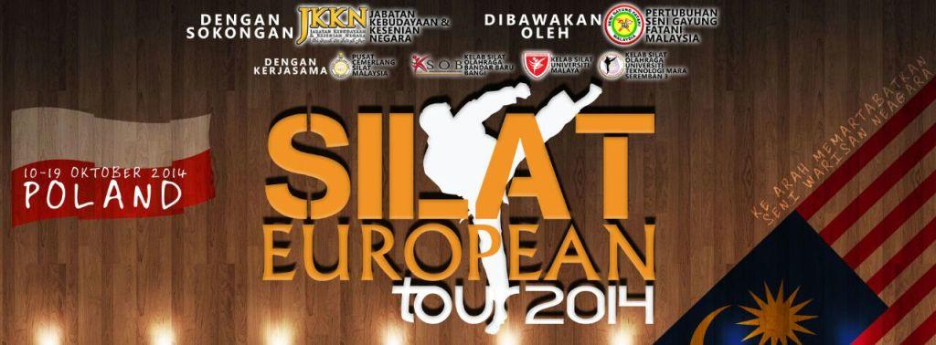 banner Silat European Tour 2014