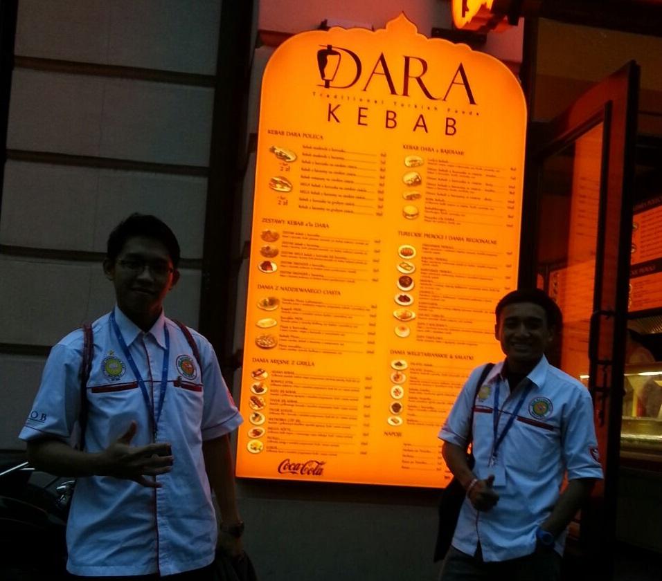 Dara Kebab Rzeszow, Poland.