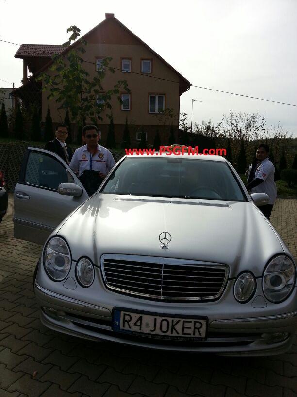 Mercedes 'JOKER'.